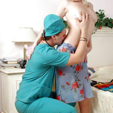 Arzt Sex im Krankenbett